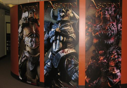 Ascend: New Gods posters