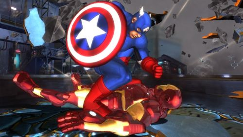 Avengers Battle for Earth Captain America