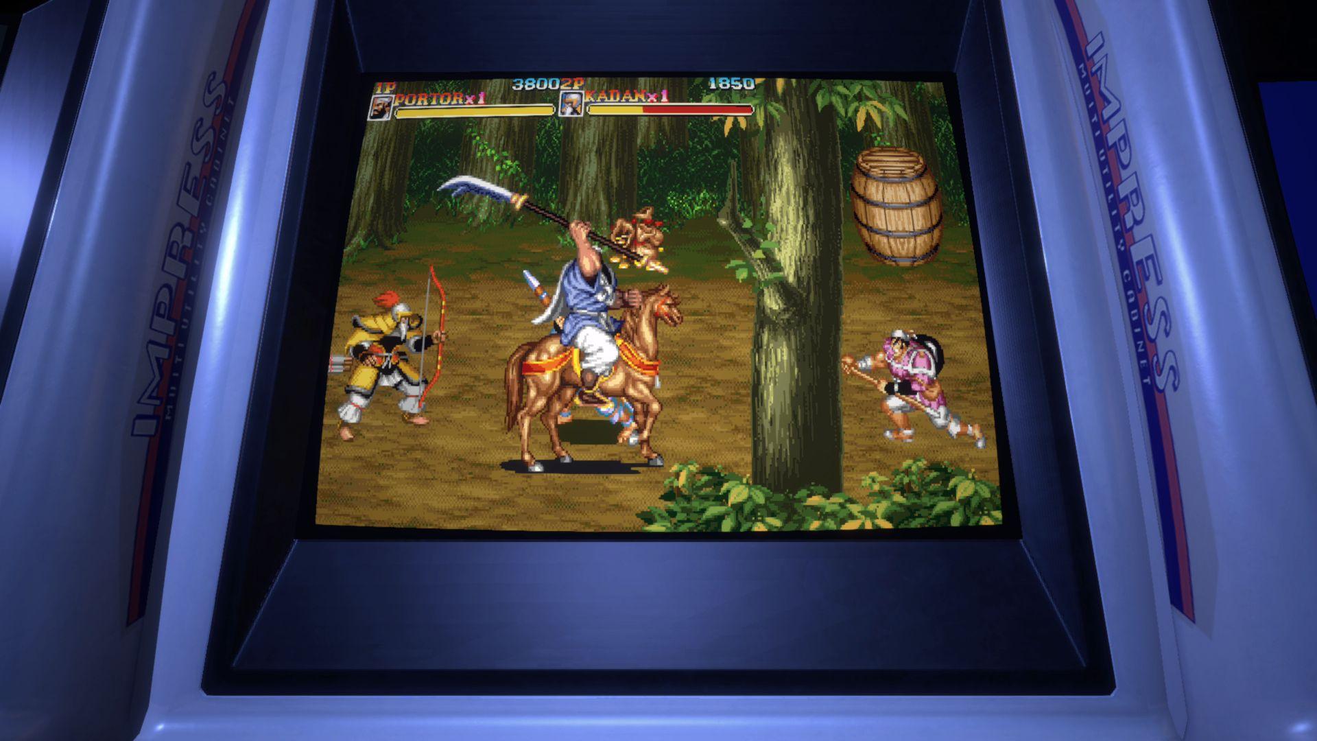 Warriors of Fate (Capcom Arcade Stadium)