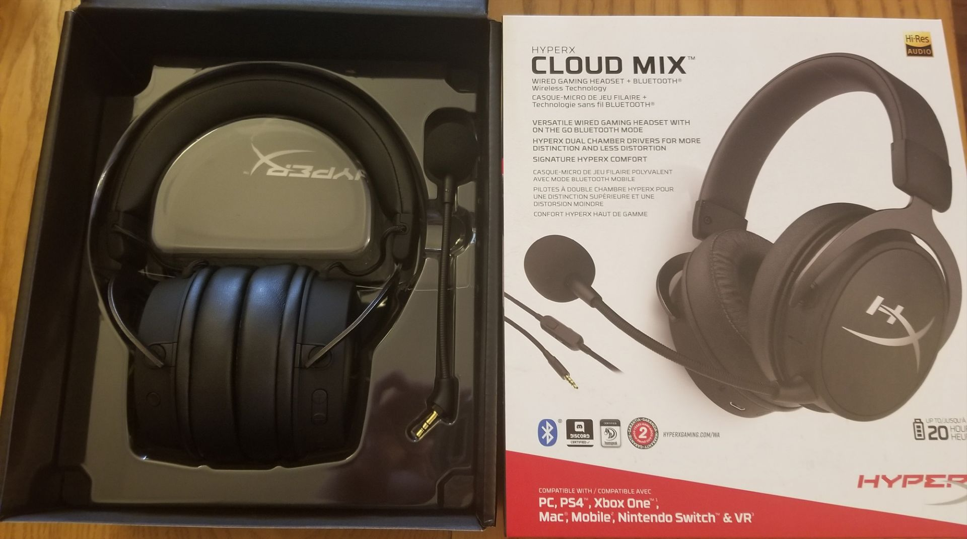 Co Optimus News Hyperx Cloud Mix Wired Gaming Headset