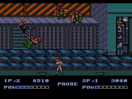 Double Dragon II Mega Drive Mission 2
