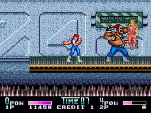 Double Dragon II PC Engine Burnov