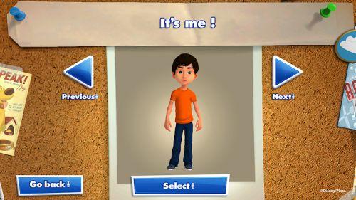 Kinect Rush Character Creator
