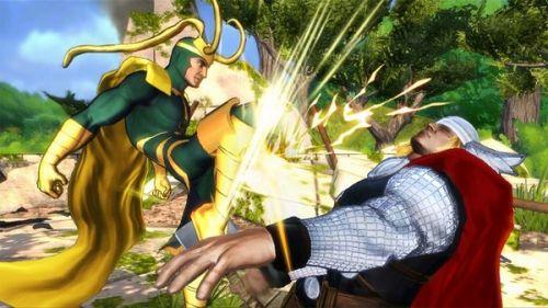 Avengers Loki vs Thor