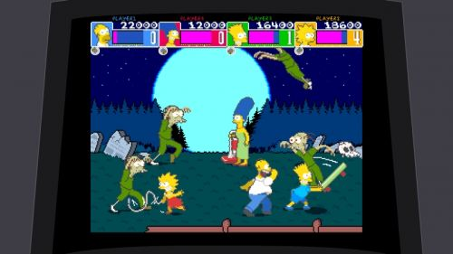 Simpsons Arcade Graveyard
