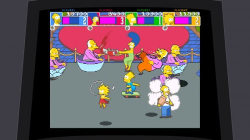 Simpsons Arcade Teacups