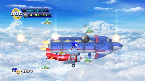 Sonic 4 Episode II Sky Fortress
