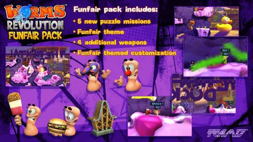 Worms Revolution Funfair Pack DLC