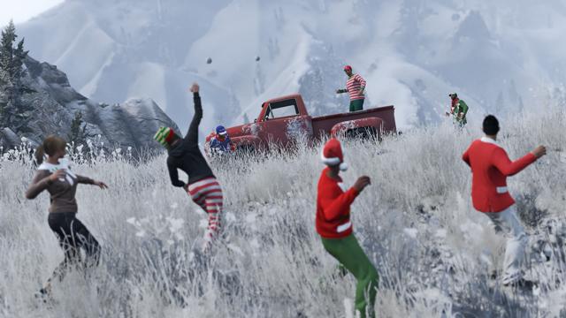 Co-Optimus - News - 'Festive Surprise' Update Arrives on GTA Online