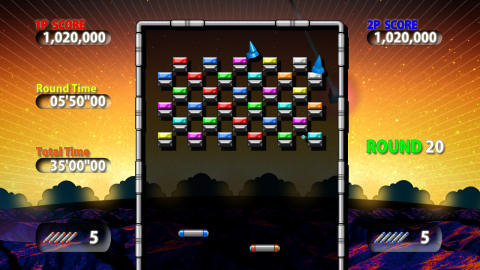 Co Optimus Review Arkanoid Live Co Op Review