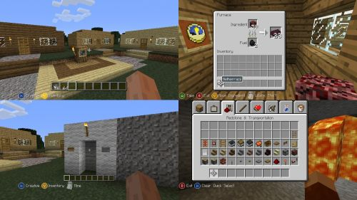 how to build a chicken coop in minecraft xbox 360