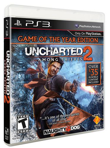 Co Optimus News Uncharted 2 Game Of The Year Edition Announced