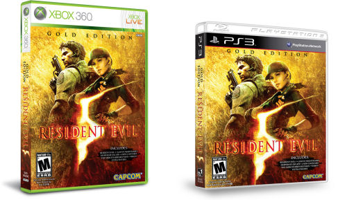 Co Optimus Video Resident Evil 5 Gold Edition Trailer Box