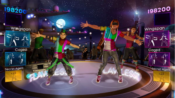 Dance Central 2 Co-op Boys