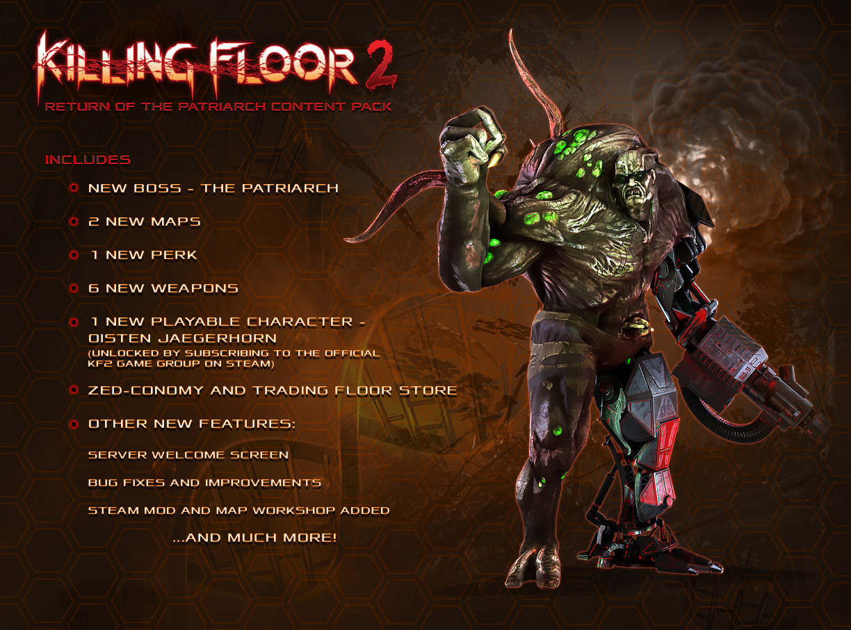 Co Optimus News The Patriarch Returns To Killing Floor 2