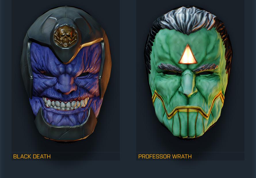 payday 2 how to get mega masks