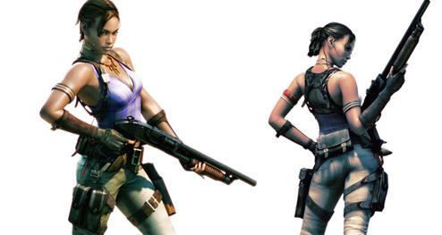 Co Optimus News Resident Evil 5 Partner Unveiled