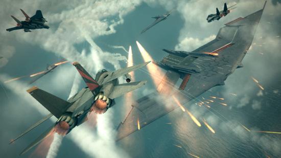 The Best Flight Action Games Acecombat6_1