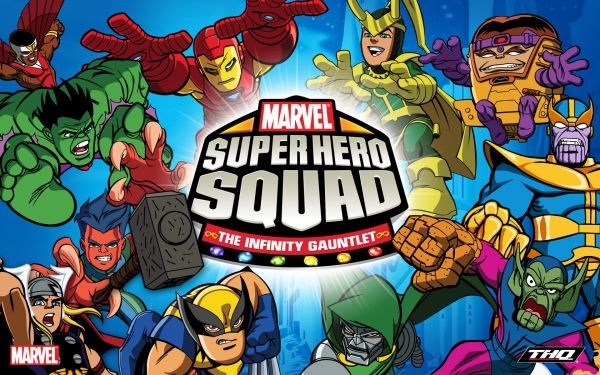 super hero squad Marvel