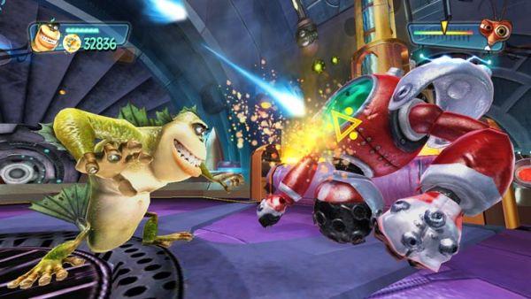 Co Optimus Review Monsters Vs Aliens Co Op Review