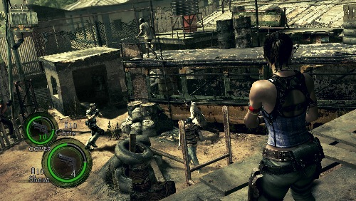 Co Optimus Review Resident Evil 5 Co Op Review
