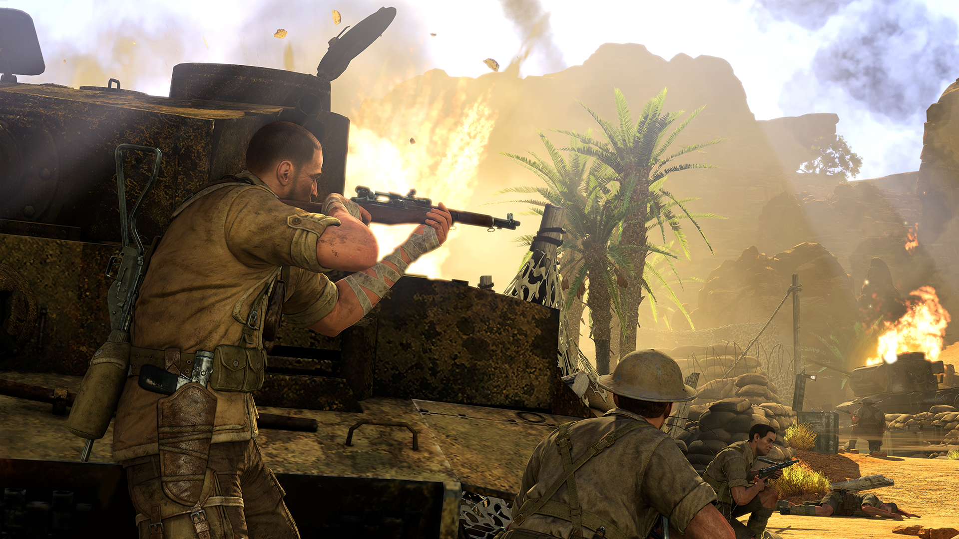 [E3 2014] - Sniper Elite 3 Hands on Co-Op Demo